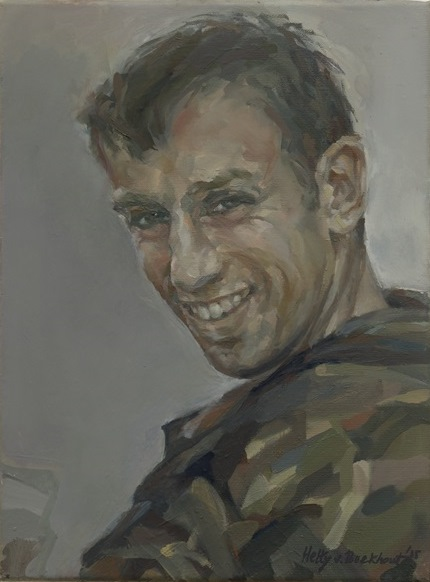 Hetty van Boekhout, Portrait Captain Tom Jennings, 2015